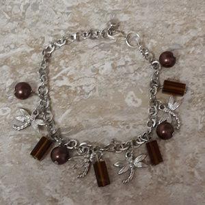 Vintage Firefly Charm Bracelete